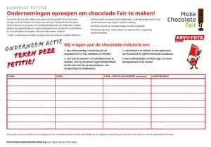 make chocolate fair
